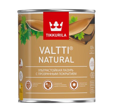Ультрастойкая лазурь Tikkurila Valtti Natural - Валтти Нэйчурал